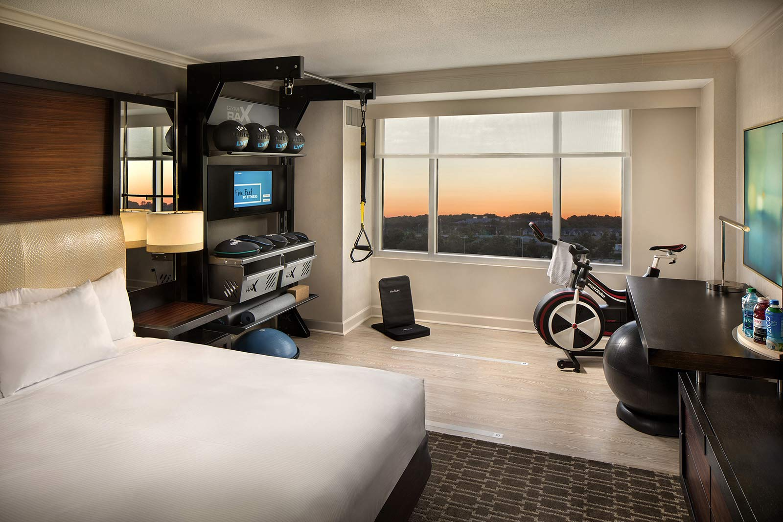 Hilton Hotels | Five Feet to Fitness